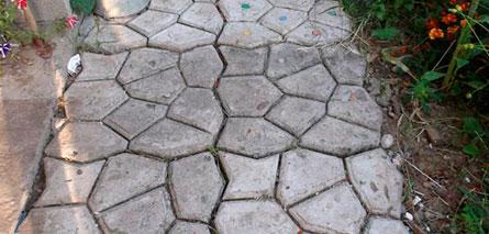 Форма для изготовления тротуарной плитки своими руками