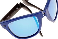 Солнцезащитные очки Ray Ban Wayfarer Folding RB 4105 складные (копия)